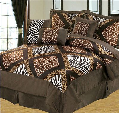 Earth alone earthrise book 1 comforter animals and tigers - Cheetah print queen comforter set ...