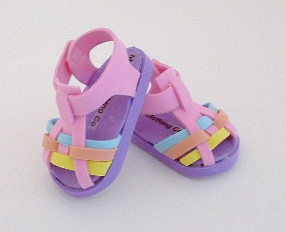 Fun Foam Pastel Woven Sandal by MyGirlClothingCo on Etsy, $9.00
