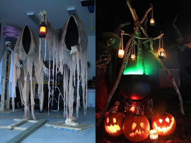 Check Out 23 Halloween Diy Outdoor Decoration Ideas.Are you looking for some inspirations to turn your yard into an exquisitely enchanting and spooky landscape.