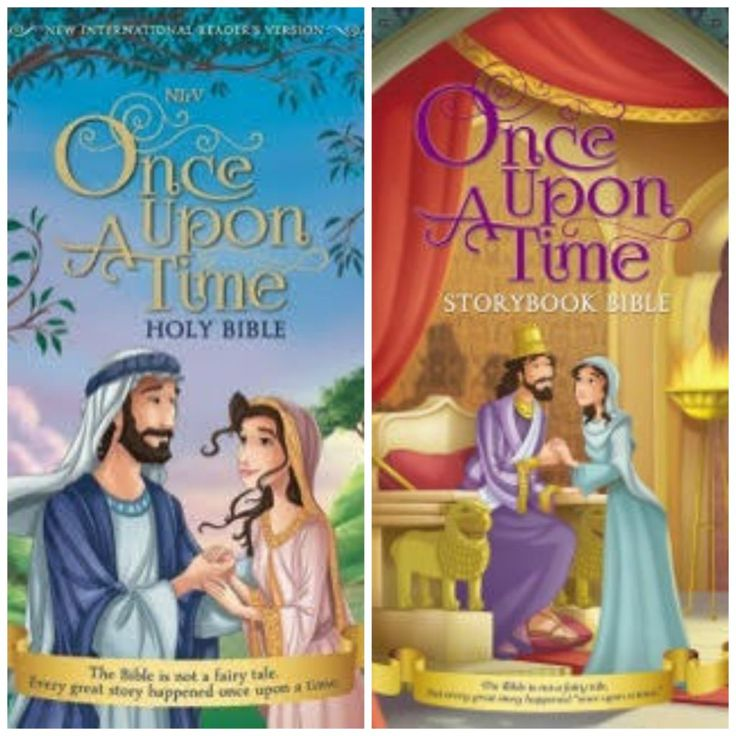 Once Upon A Time Holly Bible and Storybook Bible