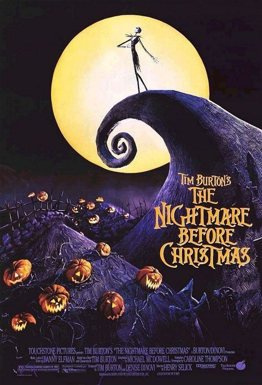 The Nightmare Before Christmas (1993) is a movie I keep coming back to again and again at christmas, at halloween, at spring, summer, autumn or winter, it really doesn't matter. It has grown on me year on year. Definitely in my top 100
