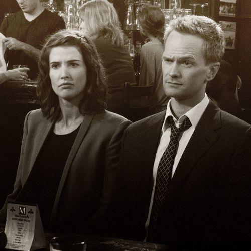 Barney & Robin. Those eyebrows... :)