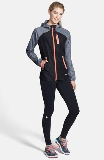 Under Armour Jacket & Leggings available at #underarmour @ http://www.FitnessGirlApparel.com