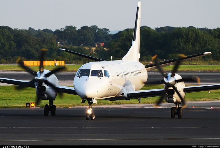Photo: G-LGNP (CN: 2000-018) Saab 2000 by Mateusz Gawron Photoid:8366777 - JetPhotos.Net