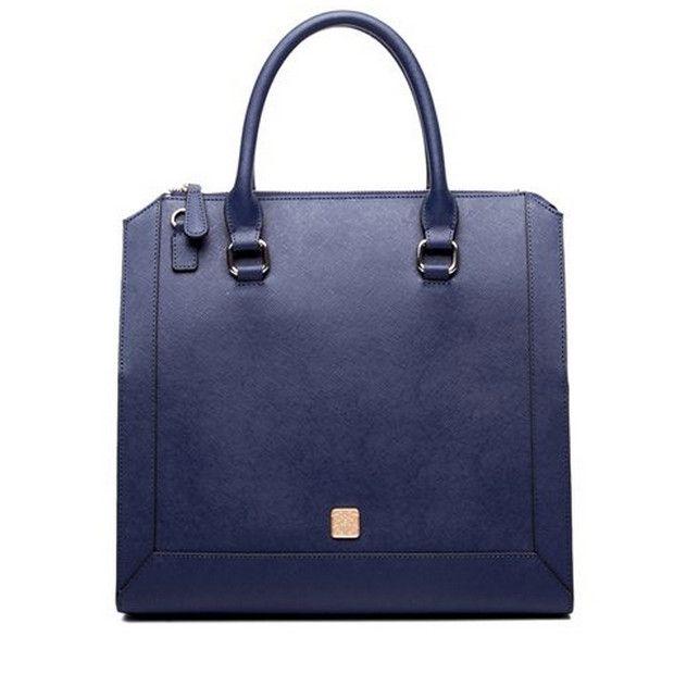 Perfect Big Capacity Adjustable Strap Leather Brief Handbag