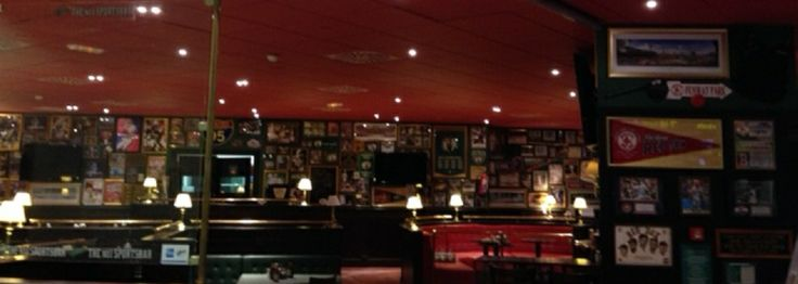 Iluminación led en la zona de comedor del restaurante.