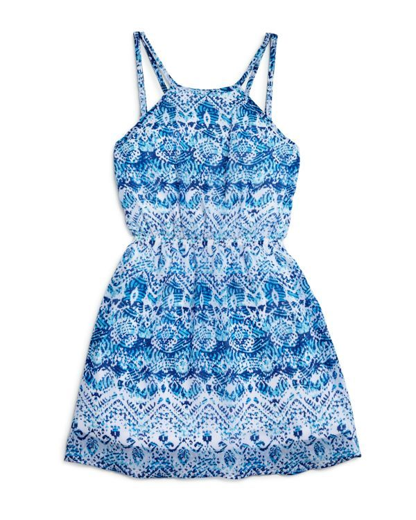 Sally Miller Girls' Print Sundress - Sizes S-xl