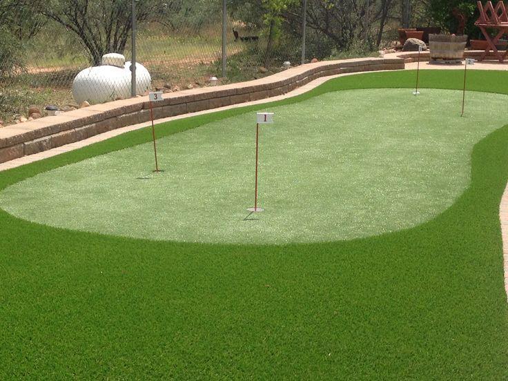 backyard putting green installation 25 best ideas about