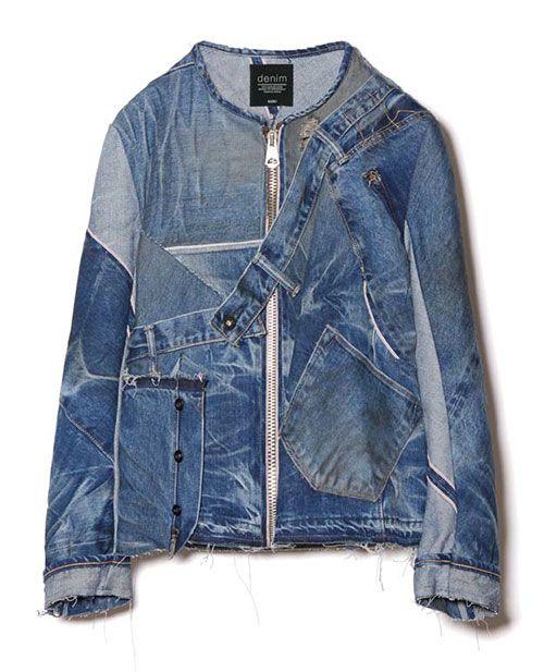 KUROの2016年春夏デニムコレクションよりジャケットやコートなどトップスアイテムの紹介の写真5                                                                                                                                                                                 もっと見る