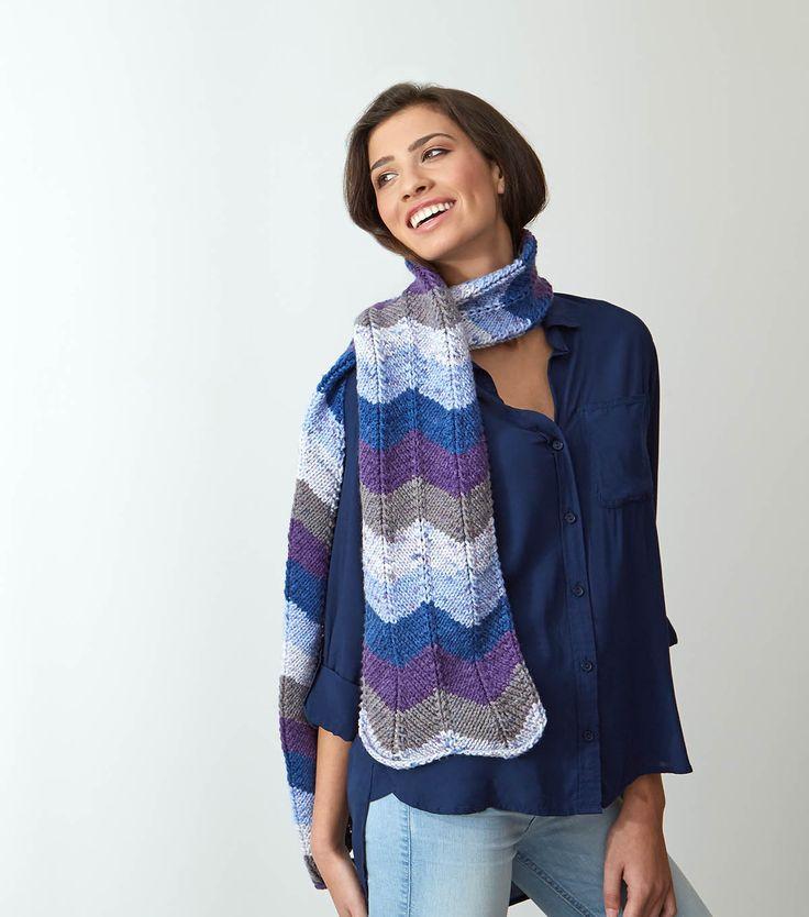 Knitting Kfb Twice : Best knit scarves images on pinterest