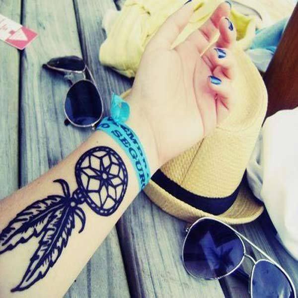 INSPIRA DNIA: tatuaże z łapaczami snów
