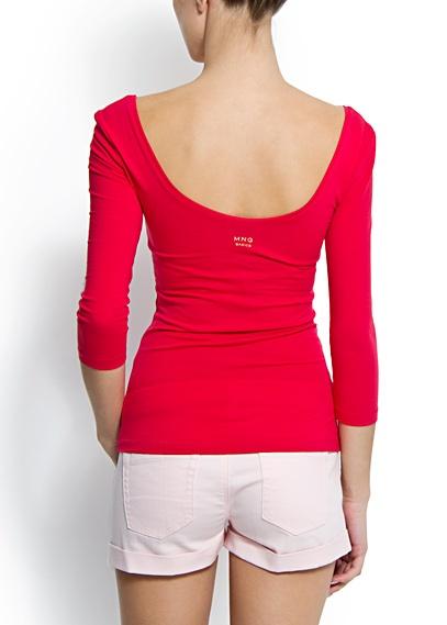 MANGO - CLOTHING - Slim-fit scoop neck t-shirt