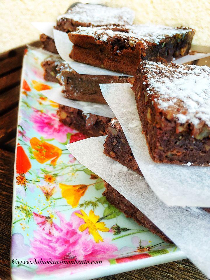 Brownie ultra  fondant sans matière grasse