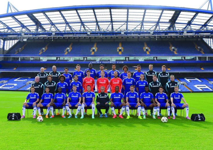 Chelsea fc team pic 2014/15