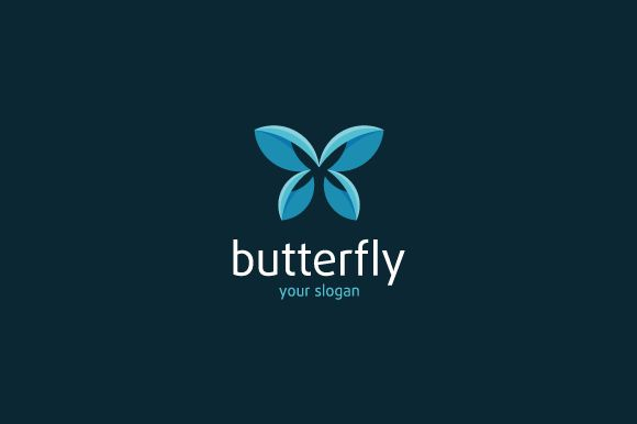 Butterfly Logo by brandphant on @creativework247