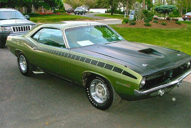 1970 Plymouth Barracuda - Com os 80 da Mega eu compraria esse !!!...kkkk Lindoooo lindo lindoooooo !!!