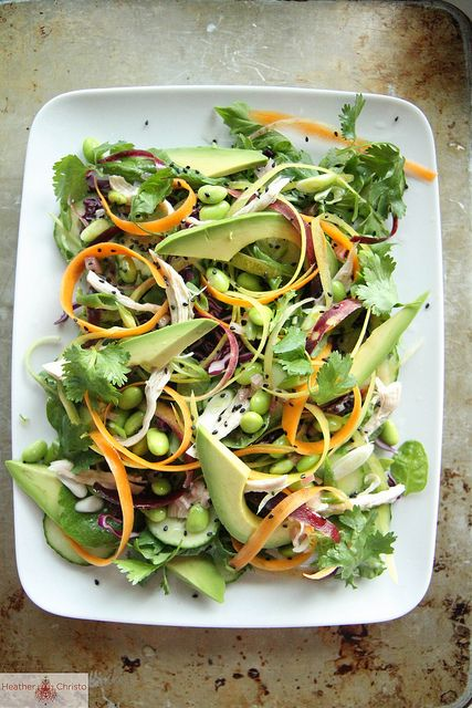 Asian Chicken Salad by Heather Christo, via Flickr