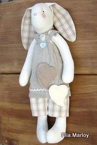 un lapin et son tuto - Le blog de feutrinesetpiqueaiguilles