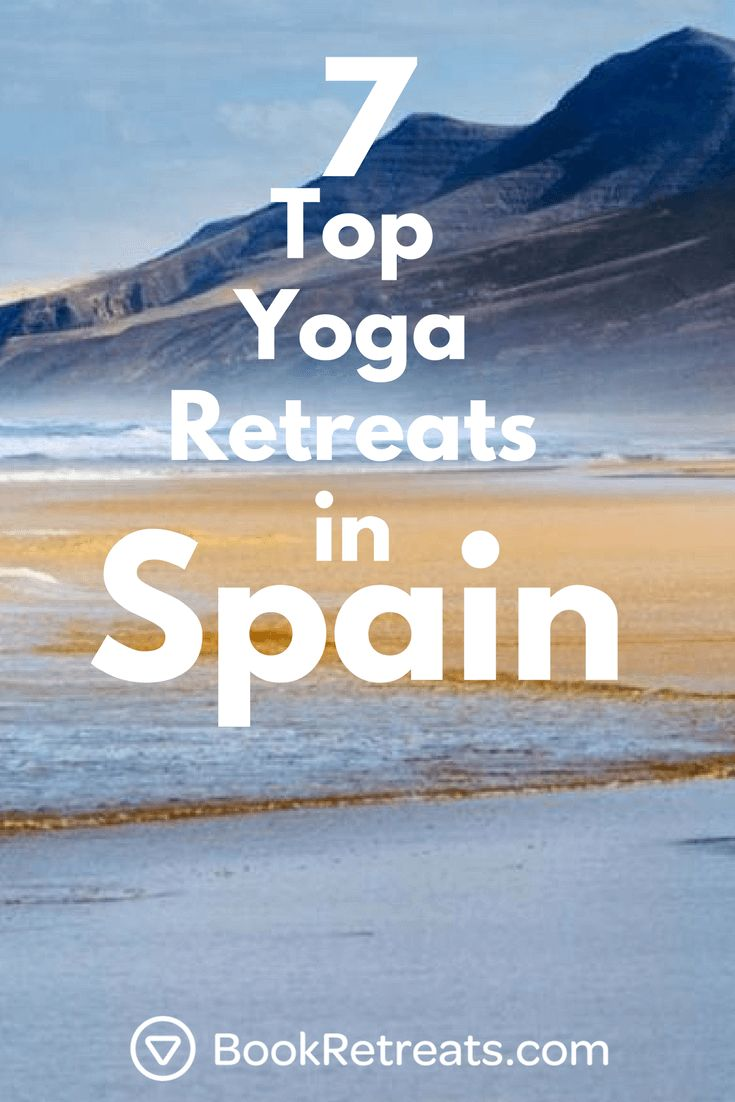 Looking for an excuse to vacation in Spain this summer? Endless beaches, breath-taking landscapes, constant sunshine, and a laid-back vibe that makes happiness a natural state. Europeans head to Spain for their vacations, which is really saying something. https://bookretreats.com/blog/7-top-yoga-retreats-spain/
