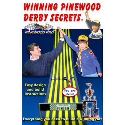Winning Pinewood Derby Secrets - Hard Copy