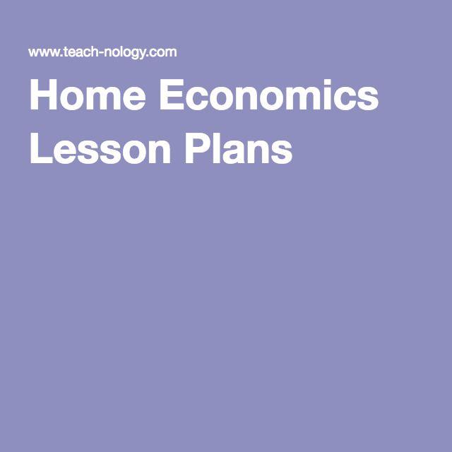 Home Economics Lesson Plans                                                                                                                                                                                 More