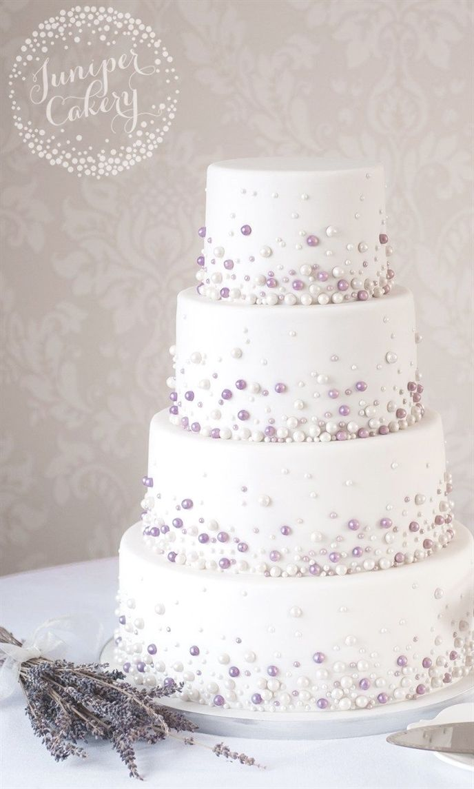 Moderne Perle Hochzeitstorte von Juniper Cakery #WeddingCakes   – wedding ideas