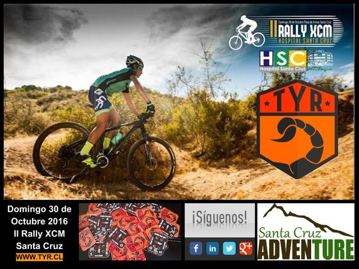 TYR producciones estará presente llevando los tiempo y resultados, el Domingo 30 de Octubre en la segunda competencia Rally XCM Hospital de Santa Cruz.