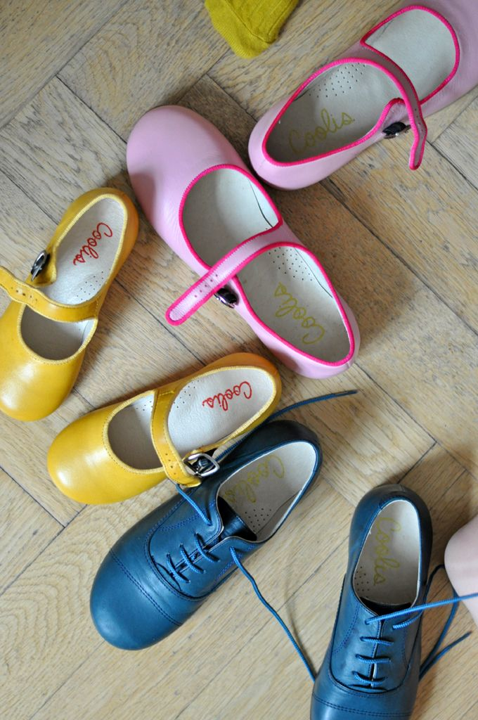 Coolis - shoes for the colourful - Paul & Paula