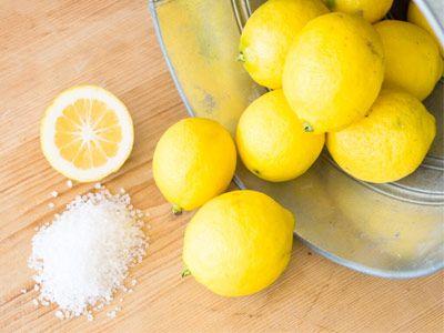 Limão e sal no tratamento do acne - pontos brancos