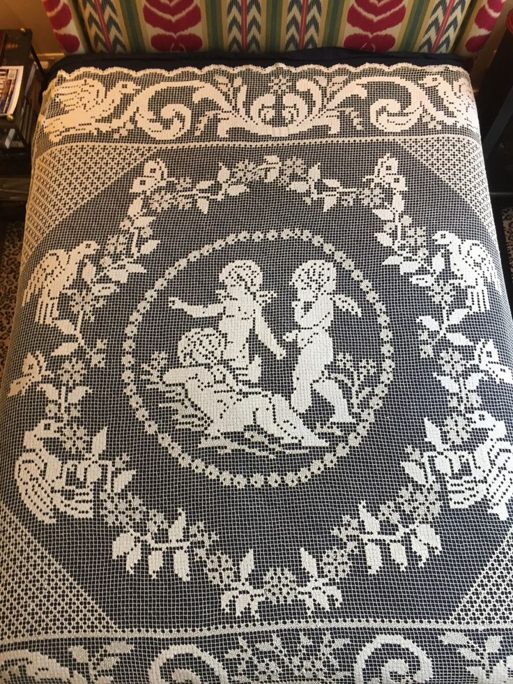 A personal favourite from my Etsy shop https://www.etsy.com/uk/listing/498929104/vintage-1900-bedspread-curtain-french