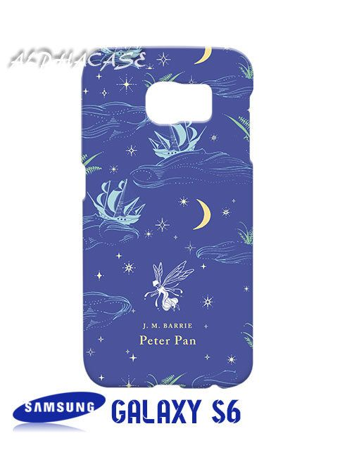 Peter Pan Classic Penguin Book Samsung Galaxy S6 Case Hardshell