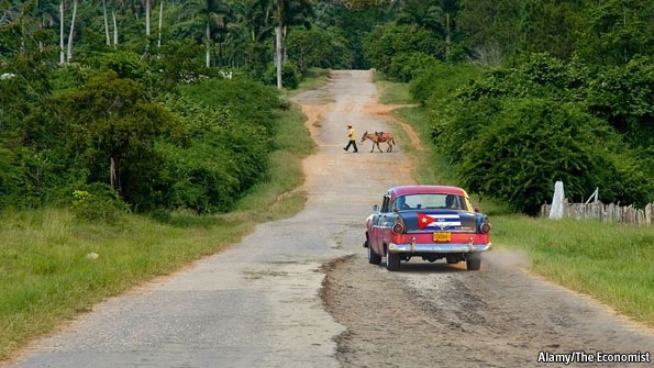 The Castros, Cuba and America  On the road towards capitalism  Change is coming to Cuba at last. The United States could do far more to encourage it