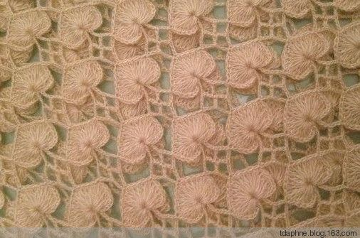 Gorgeous crochet stitch <3 ♡ Teresa Restegui http://www.pinterest.com/teretegui/ ♡