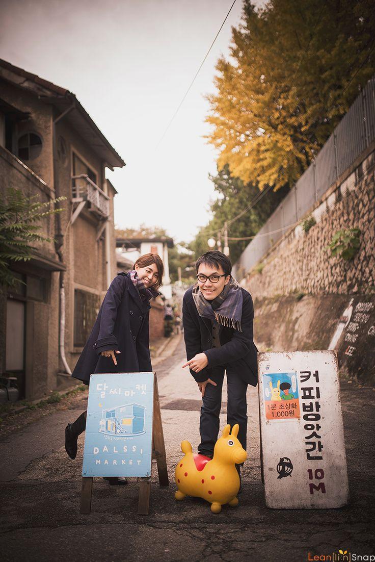 Winter Korea Casual Dating Snaps at Insa-dong and Samcheong-dong