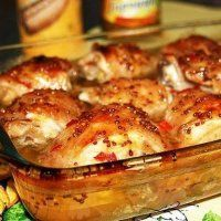 Куриные бедрышки в горчице - простое, быстрое и очень вкусное блюдо к любому столу!