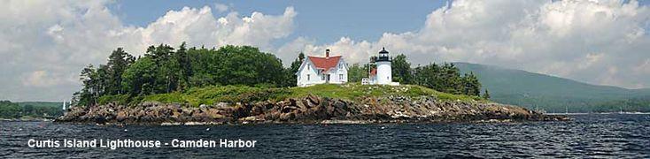 Curtis Island Lighthouse - Camden Maine