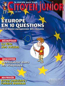 Citoyen Junior n° 31 LUnion européenne en 10 questions