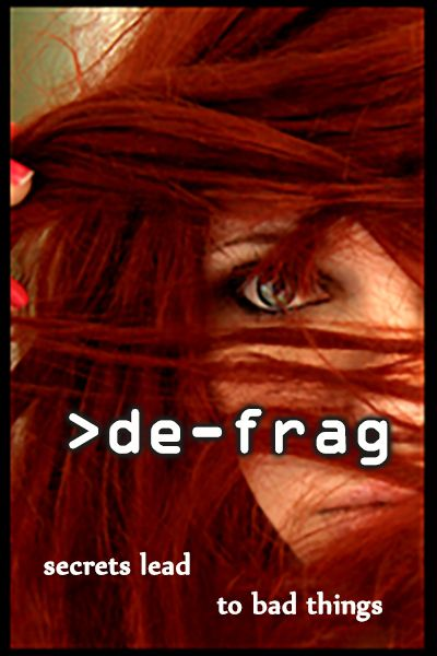 Next in the set of posters for the re-boot series. Book #2 de-frag. I've been working on it on and off this year and it's developing nicely.