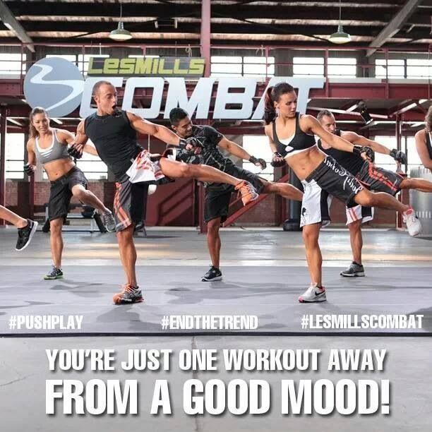 Les Mills Combat! I love it! FB/jaquelinelory