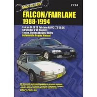Ford Falcon EA to ED, Fairlane NA & NC & LTD DA & DC with MPN EP.F4 1988-1994