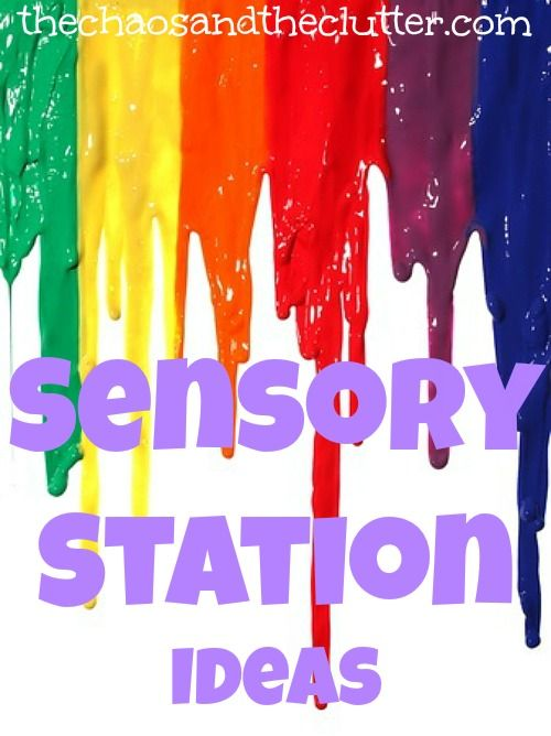 Sensory Station Ideas for the home http://goldenreflectionsblog.com/2014/07/teaching-practical-life-skills-in-your-homeschool-preschool.html