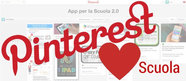 Pinterest Ama Scuola ProfDigitale.com