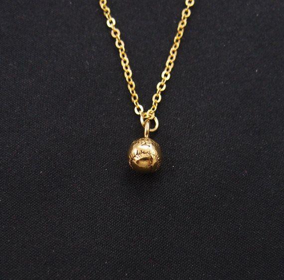 14k Gold Baseball Charm 14k Gold Gold Vintage Jewelry