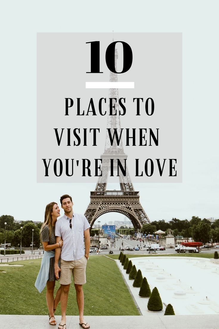 There's nothing better than exploring new places with the one you love. Whether you're swimming with stingrays in Bora Bora or running up the stairs of the Eiffel Tower, there's something magical about sharing new experiences with the love of your life by your side. Here's a list of Ryan and Samantha's favorite places guaranteed to make you fall even more in love!
