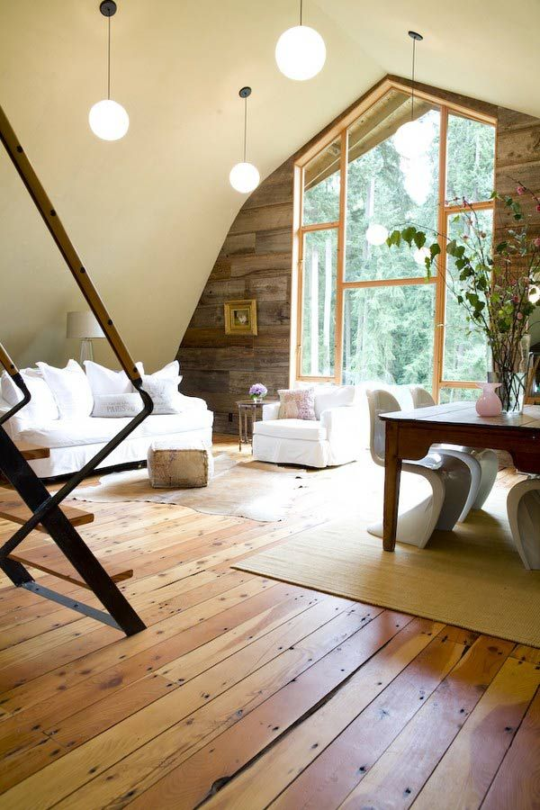 barn conversion, shed architects, I would pin directly if they didn't have the darn flash player - ex see backyard house