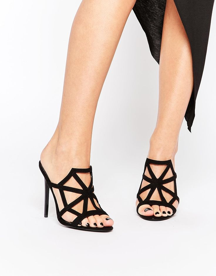 These Halloween cobweb heels bring the spooky spirit.