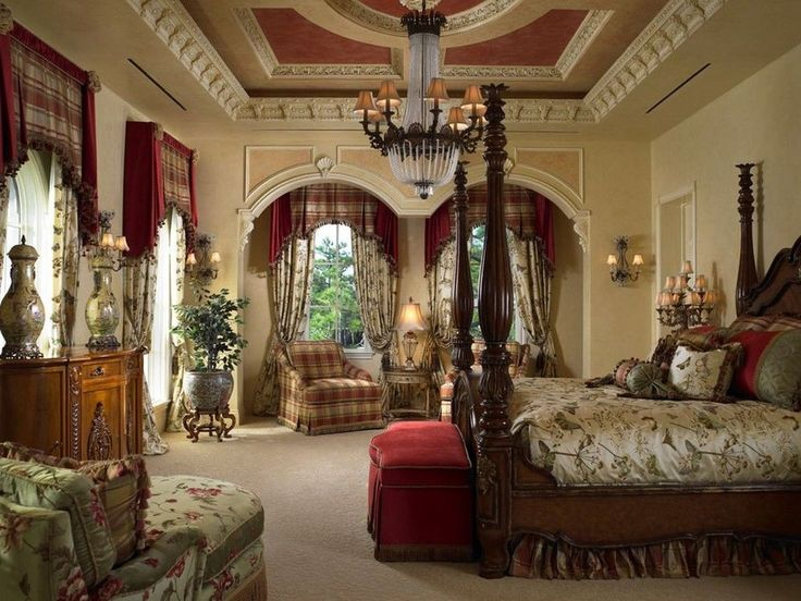 32 Stunning Luxury Master Bedroom Designs Photo Collection: 8 1 4 STUNNING Ornate Molding Crown Moulding