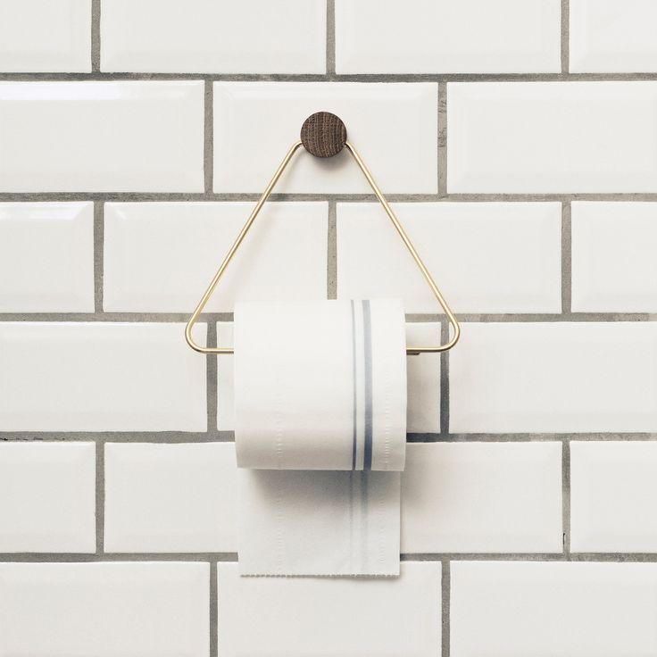 So edel kann der  Toilettenpapierhalter von ferm Living sein!