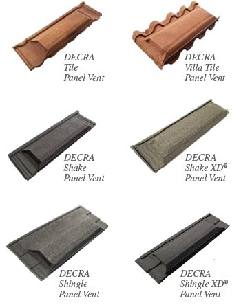 Decra Panel Vent Profiles | Decra Tile | General Roofing Systems Canada (