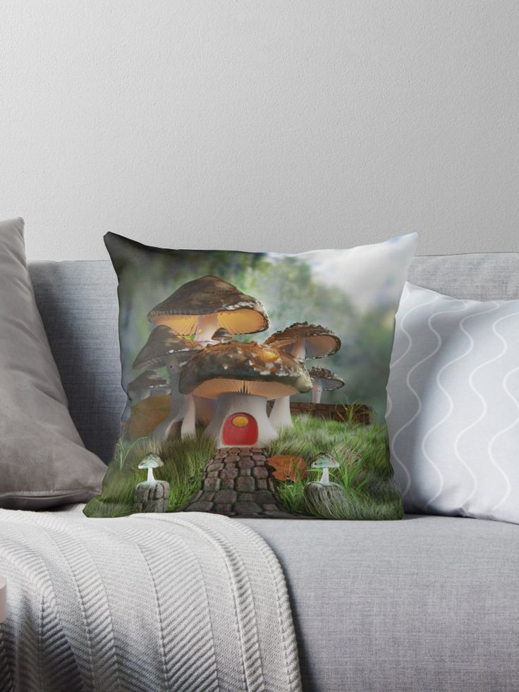 Fairy Tale Mushroom House - Home Decor #homedecor #fairytale #mushroomhouse #fantasy